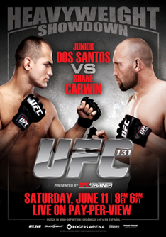 UFC 131 LIVE weigh-in results and photos