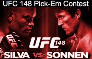 UFC148contest