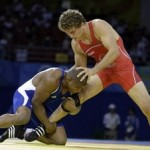 Beijing Olympics Wrestling Freestyle Men 74kg