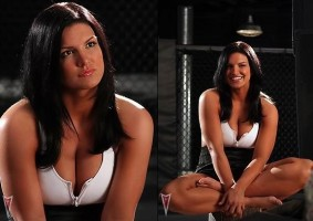 Gina Carano will take a break from fighting to star in 'Knockout.'