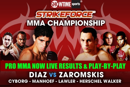 "Strikeforce: Miami"" live play-..."