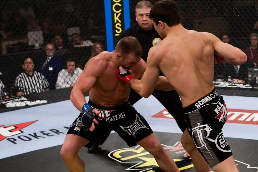 Luke Rockhold vs Paul Bradley