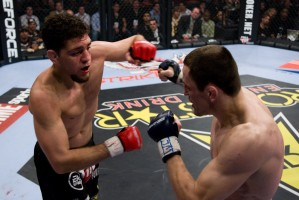 Marius Zaromskis vs Nick Diaz