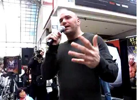 Dana White UFC 111 video blog – 3-23-10