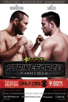 strikeforce nashville poster