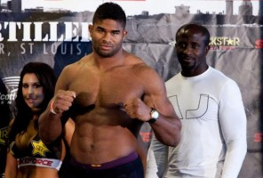 Strikeforce heavyweight champ Alistair Overeem is big and clean.