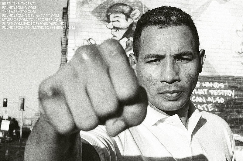 Ricardo Mayorga Arrives In Fayetteville For May 15th
