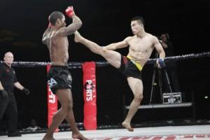 Muhsin Corbbrey (left) vs. Wu Cheng Jie