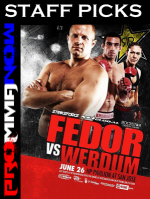Strikeforce Fedor vs Werdum STAFF PICKS