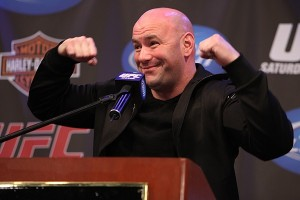 dana white happy to be in China