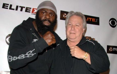 Kimbo slice and Gary Shaw / Showtime Sports