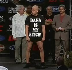 tito ortiz dana white is my bitch shirt