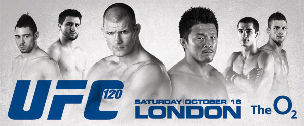 """Full card for """"UFC 120: Bispin..."""