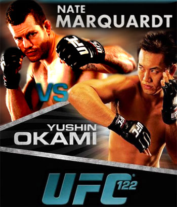 UFC 122: Marquardt vs. Okami official, all fighters make weight (results and pics)