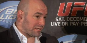 dana white post ufc 124