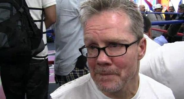 Freddie Roach on Nick Diaz's boxing: 'He's a good street fighter'