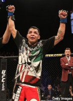 MMA Judges dig Leonard Garcia's loud noises (photo courtesy of Getty Images)