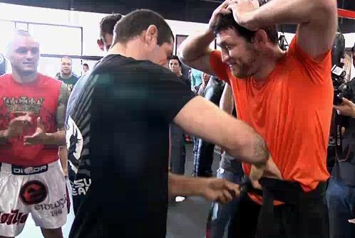 """Jason """"Mayhem"""" Miller awarded BJJ Black Belt; confronts a Nick Diaz homie (updated)"""