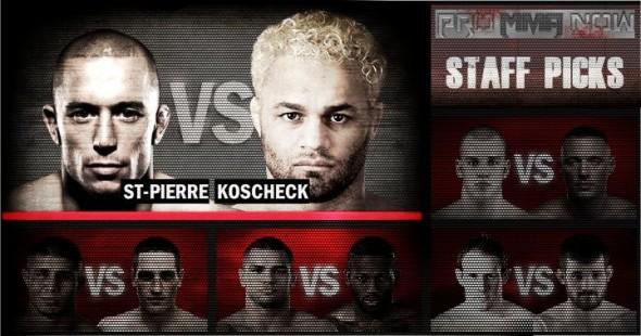 ProMMAnow.com UFC 124 staff picks