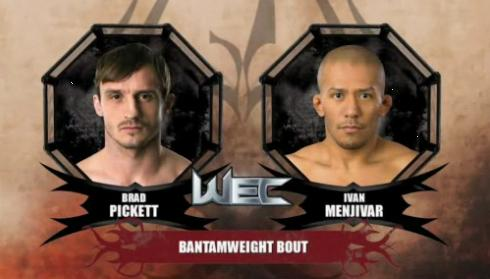 WEC 53 prelims: Brad Pickett vs. Ivan Menjivar – fight video