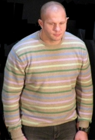 Will Fedor bring back the pastel sweater for Winter 2011 or is the Stary Oskol bougerois going darker for the cold months?