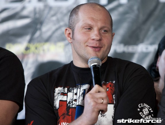MMA Legend Emelianenko Announces Day of His First Fight After Return
