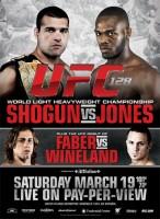 UFC 128 poster