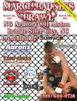 The first MMA event in Siler City, North Carolina