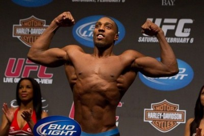 A positive perspective on the performance of Phil Davis against Antonio Rogerio Nogueira