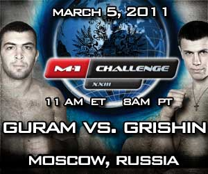 Champion Shamil Zavurov nabs M-1 Challenge XXIII's knock out of the night