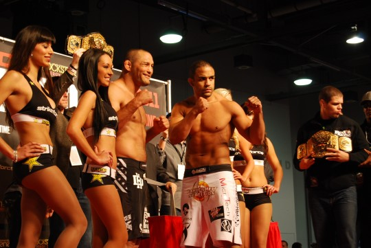 """Strikeforce: Feijao vs. Henderson"" weigh-in results and photo gallery"
