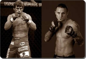 Former champs Urijah Faber(left) and Eddie Wineland will battle at UFC 128