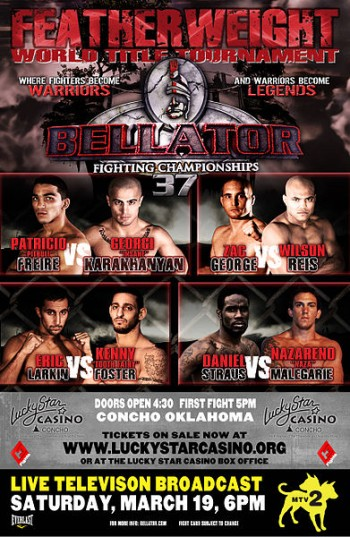 Bellator 37 LIVE results and play-by-play
