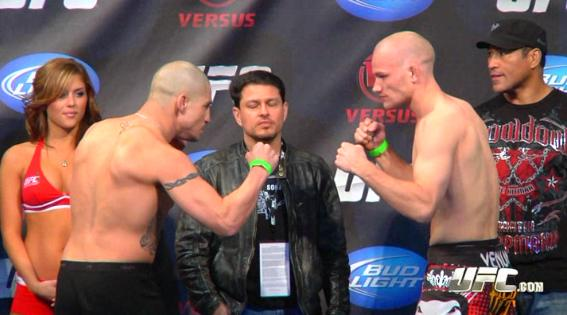 UFC Live 3 weigh-in results and photo gallery