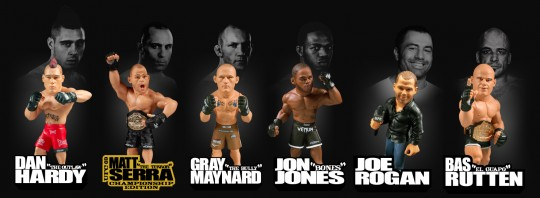 Round 5 releases Ultimate Collector Series 9 featuring Nick Diaz, Don Frye, and Jason Miller