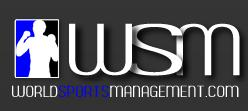 world sports management logo