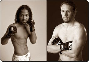 Ben Henderson(left) will take on Mark Bocek at UFC 129