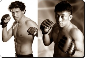 Gilbert Melendez(left) will defend his Strikeforce title against Tatsuya Kawajiri