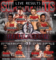 bellator 41 LIVE RESULTS