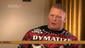 brock lesnar fighting words