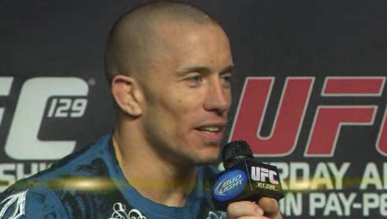 Georges St. Pierre, welterweight rankings