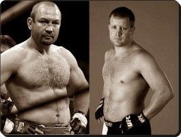 Vladimir Matyushenko(left) will battle Jason Brilz at UFC 129