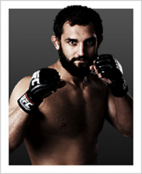 Johny Hendricks battles Josh Koscheck at UFC on FOX 3 Photo credit: UFC