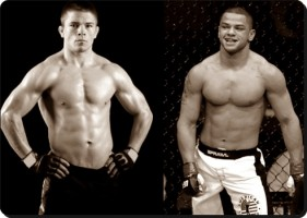 Rick Story(left) will look to upset Thiago Alves at UFC 130