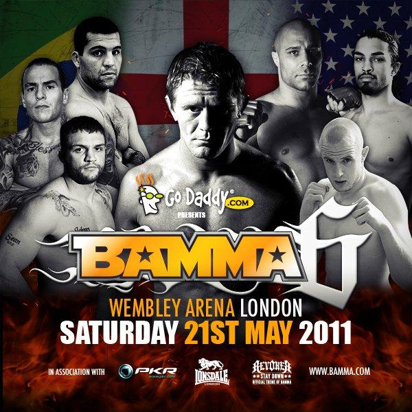 BAMMA 6 fight videos: Watson vs. Rua, Trigg vs. Phillips, Salaverry vs. Ewin