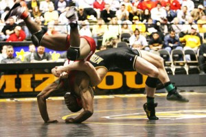 Michael Chandler wrestled for Missouri.