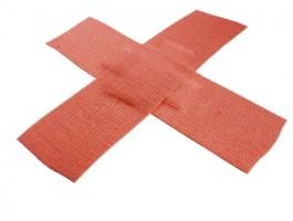 red-bandage