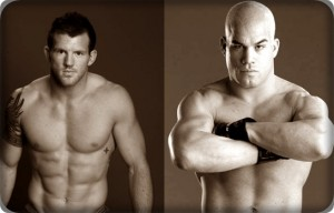 Ryan Bader(left) will face Tito Ortiz at UFC 132