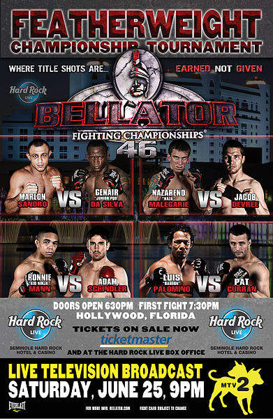 Bellator 46 LIVE results and play-by-play