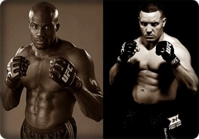 Cheick Kongo(left) will face Pat Barry at the UFC Live 4 event